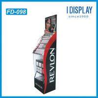 Paper Material folding cardboard displays for eyebrow pencil cardboard display