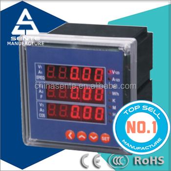 Dts7666 Three Phase Electricity Lcd Panel Display Analog 3 Phase ...