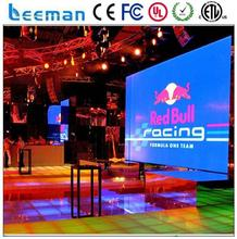 retail store monitor led video display board brochure media player P10 full color smd rgb full color led commerical ad display