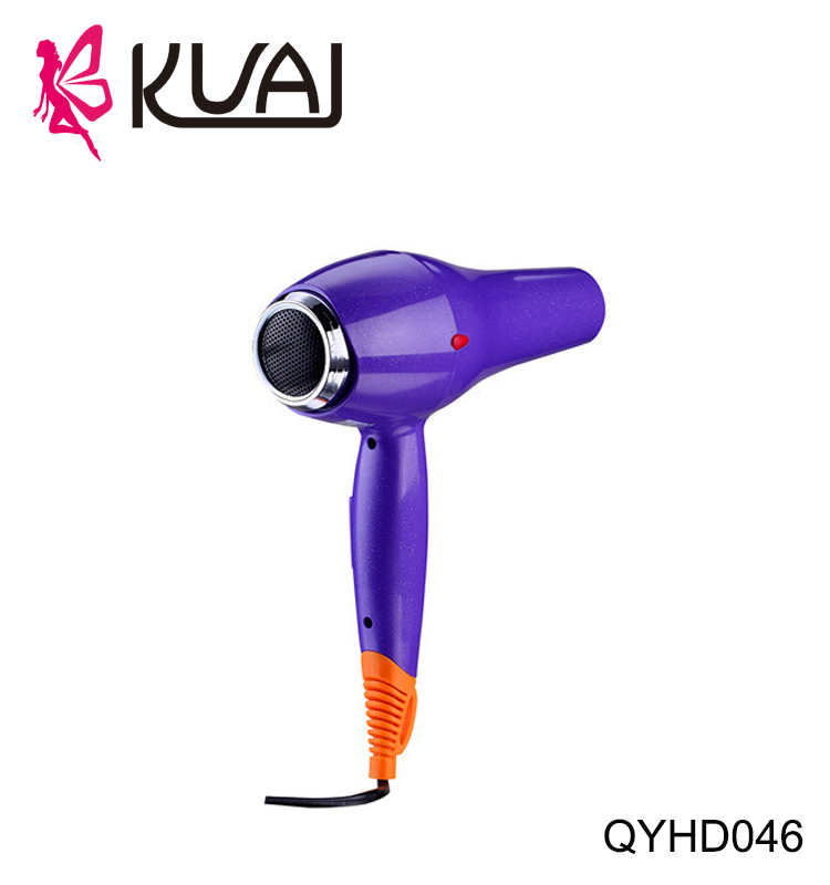 KUAI 2017 Latest Fashion Top Design Gas Powered Hair Dryer Removable End Cap & Hanging Ring for Storage