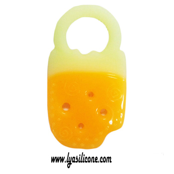 Custom Food Grade BPA Free Silicone Baby Teether Toys Non-toxic Infant Teether