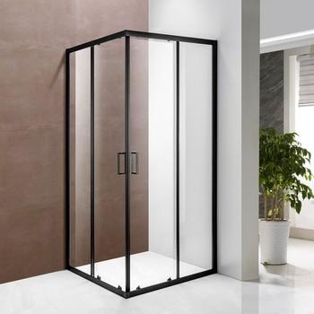 Glass Box Doccia.Sliding Glass 2 Sided Black Shower Enclosure Box Doccia Buy Box Doccia Shower Box 2 Sided Shower Enclosure Product On Alibaba Com