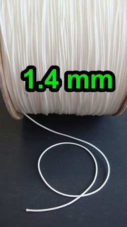 Braided Nylon Polyester Lift Cord By Kisslife Gardening Plant and Crafts 1mm Blinds Cord String 200 Yards//Roll White Braided Lift Shade Cord Replacement Cords For Blinds Windows Roman Shade Repair