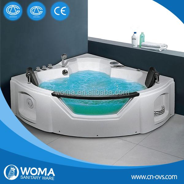 Vidrio doble de hidromasaje bañeras de masaje bathtub q312-Duchas ...