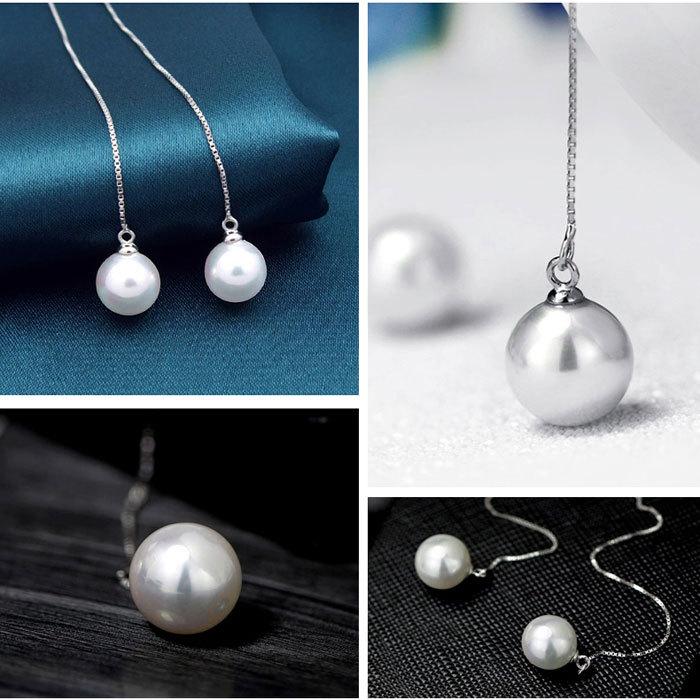 fashion single pearl long box chain nice latest designer inspired ...