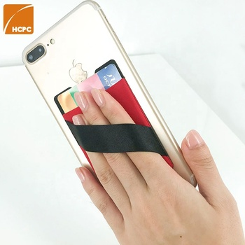 Nano mobile accessory card holders, phone sticker pockets, removable reusable mobile pockets