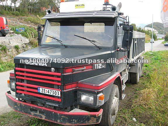 Scania 112 Dumper Truck