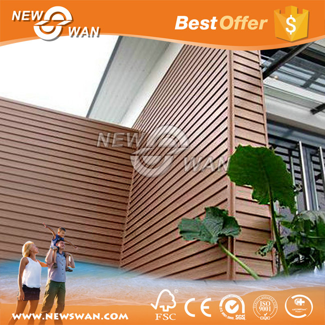 Wood plastic composite wall cladding manufacturers