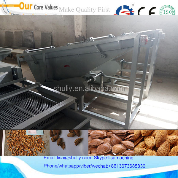 2017 automatic nut cracker machine, apricot kernel cracking machine 008613673685830