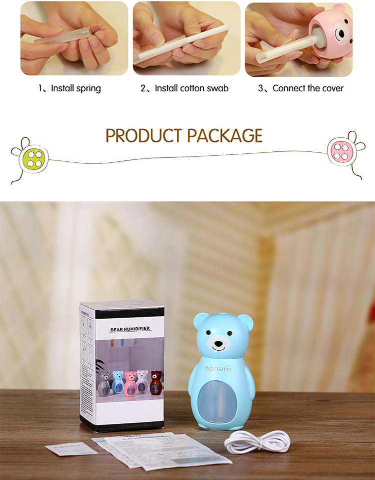 Ultrasonic Air Humidifier Innovative Electrical Cooperate Import Gift Items from China