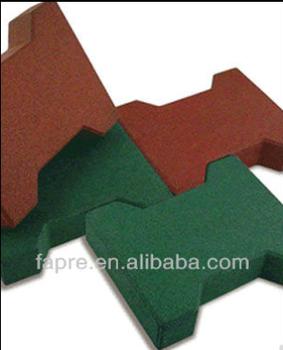 Outdoor Rubber Floor Tilesdog Bone Rubber Paverrubber Tile Floor