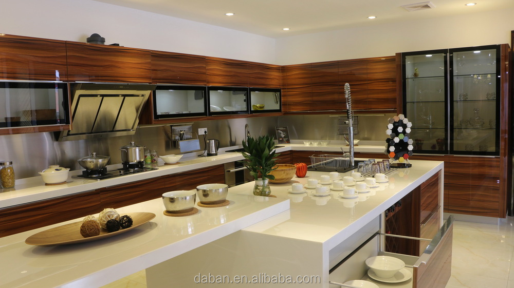 3d Embossed China Kitchen Cabinet / Kitchen Cabinet Simple Designs ...