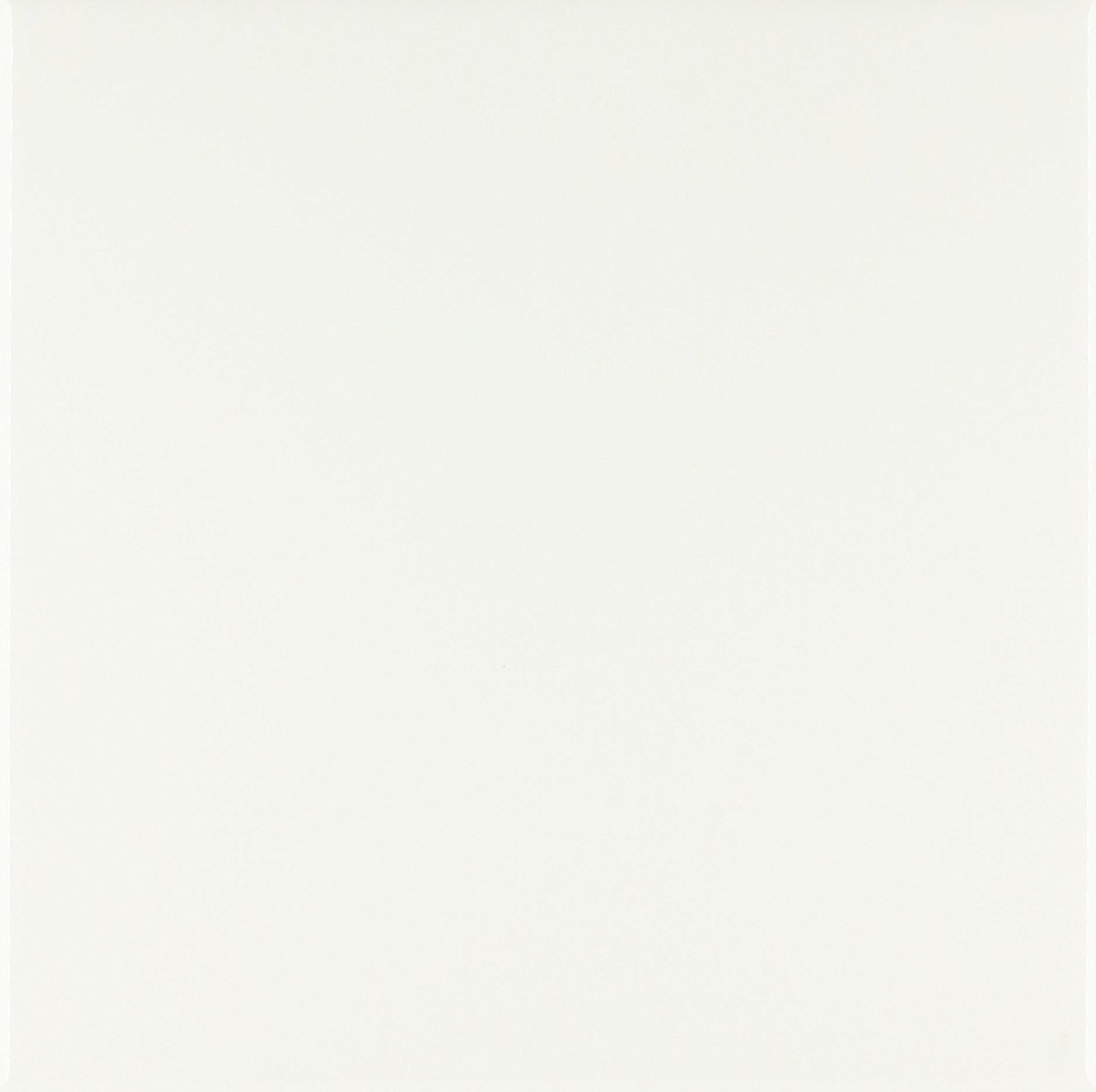 Get Quotations Rose Ct 159881 3 Pure White Bright Colorless Plain Simple One Single Solid Color Ceramic Tile