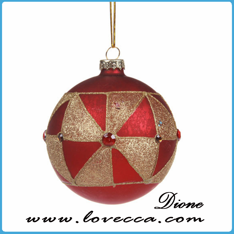 Wholesale clear glass christmas ball ornaments hollow