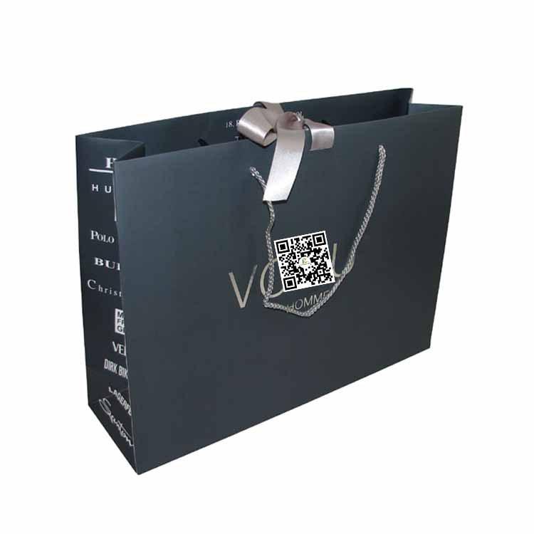 Guangzhou Manufacture Blank Shopping Bag China Gift Paper Bag ...