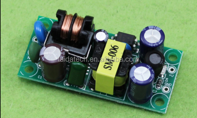 12V 500mA switching power supply module 5W constant voltage power supply board