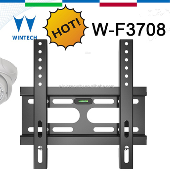 lcd tv wall mount bracket with vertical adjustment
