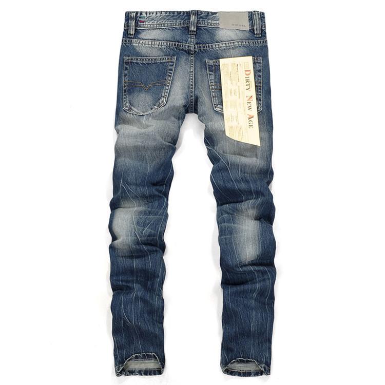 c6204d81cd8 2017 Selling Brand Mens Jeans Straight Ripped Jeans For Men Zipper Fly Denim  Jeans Men Fashion Designer Pants Blue Jeans Homme