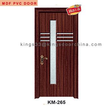 Latest Mdf Pvc Membrane Wooden Door Design For Home Buy Mdf