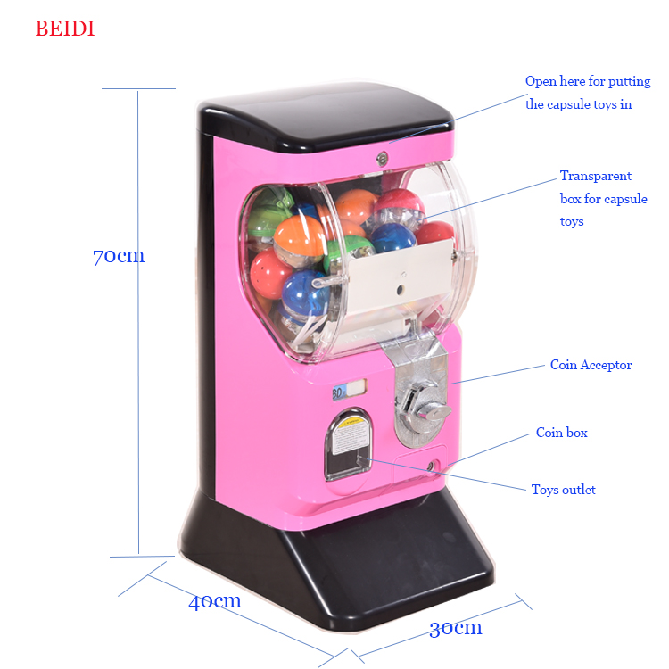 Hot sell Capsule toy gashapon vending machine