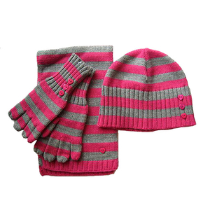 ee2925babebc Baby Hat Scarf Gloves Set
