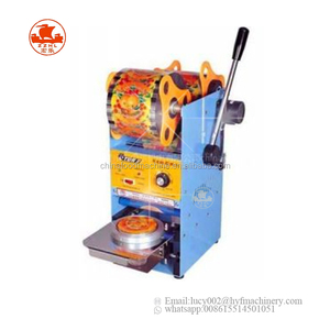 Semi-automatic Plastic Cup Sealer From China Professional Manufacturer