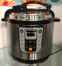 Model#YBW-Q.B.13B-125 UL Electric pressure instant cooker with nonstick inner pot