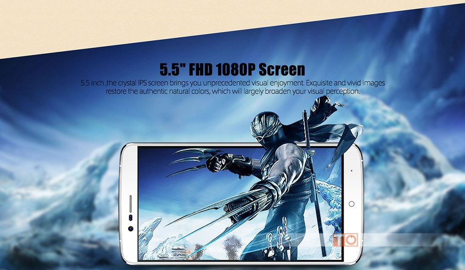 "Original Elephone P8000 5.5"" FHD MTK6753 Octa Core 4G LTE FHD1920 x 1080 Cell Phone 3GB RAM 16MP 4165mAh Fingerprint Andriod 5.1"