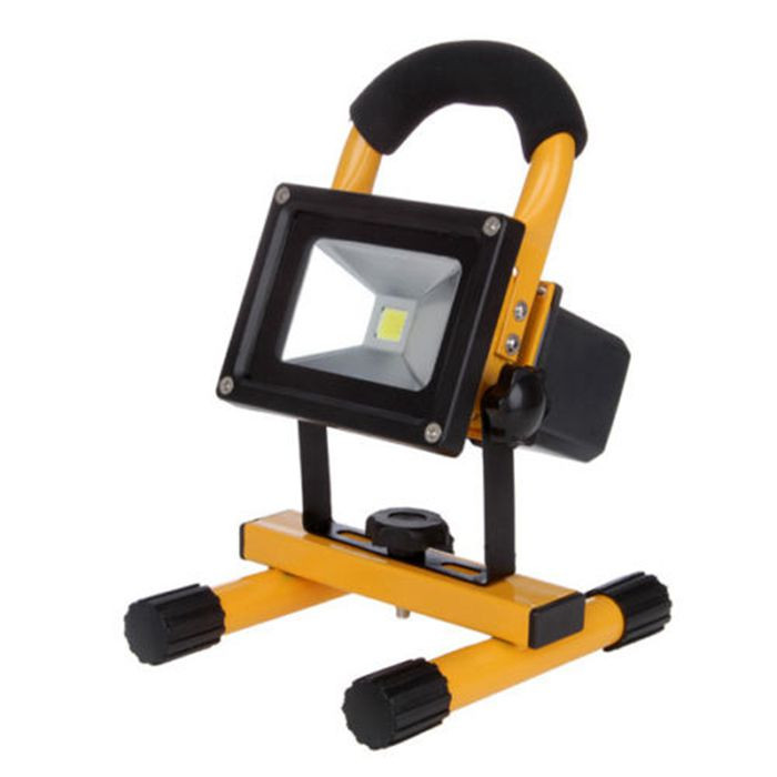 portable battery powered led work light outdoor 50w 30w. Black Bedroom Furniture Sets. Home Design Ideas