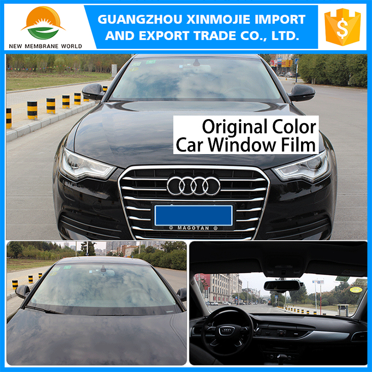 China supplier Wrap vinyl car window tint/Primary color car sticker/ self-adhesive letter sticker