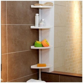 Popular  Corner Shelves WallMounted Triangle Single Bathroom Glass Shelf 254H