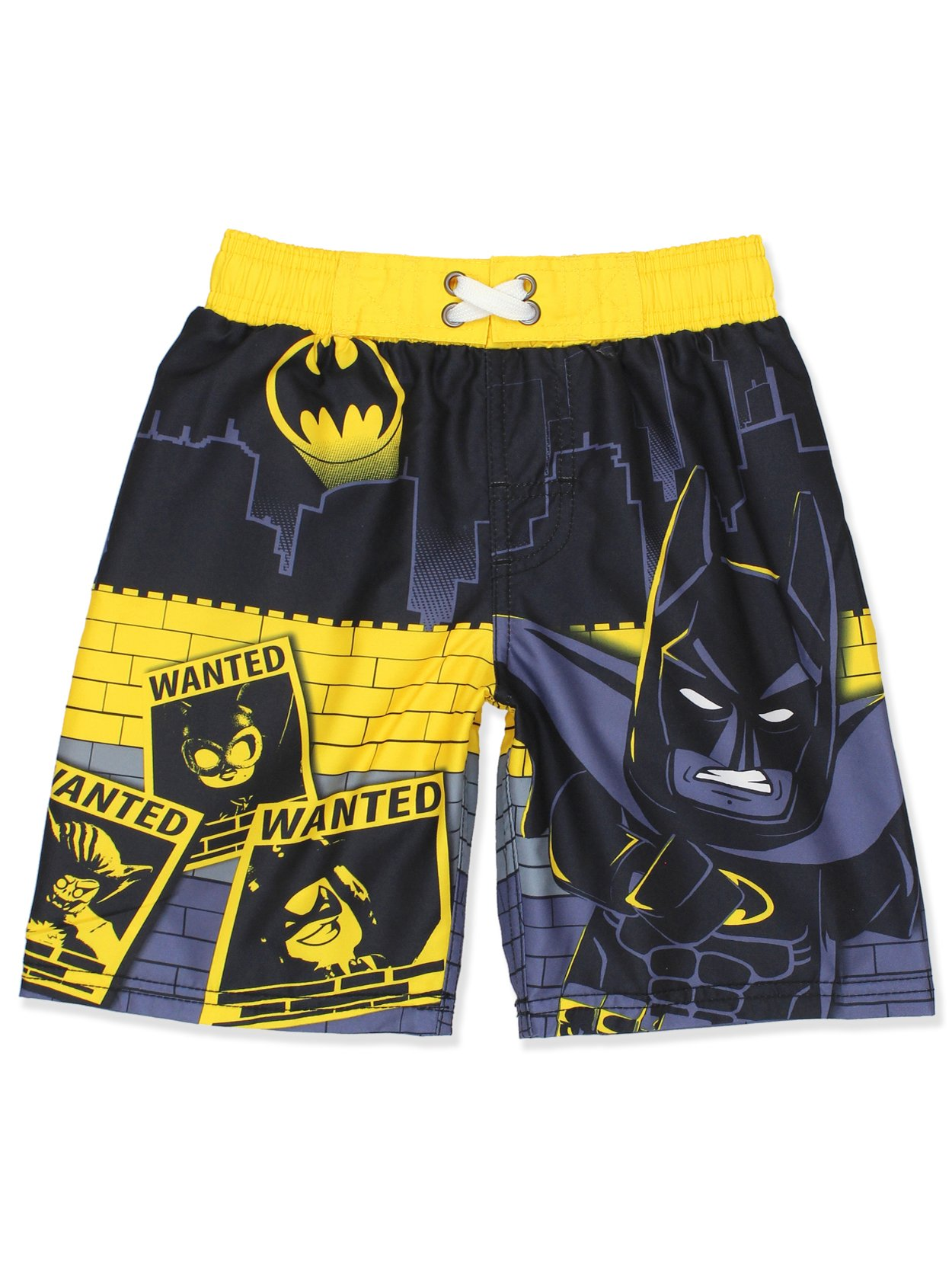 f21deb65f0 Get Quotations · LEGO Batman Boys Swim Trunks Swimwear (Little Kid/Big Kid)