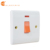 DP1 gang 20A wall switch water heater double pole with neon
