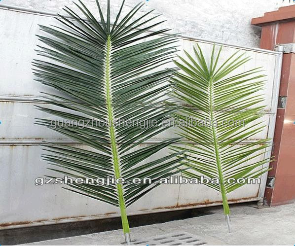 Q122809 dried palm tree leaves plastic palm leaves roof outdoor artificial palm leaves