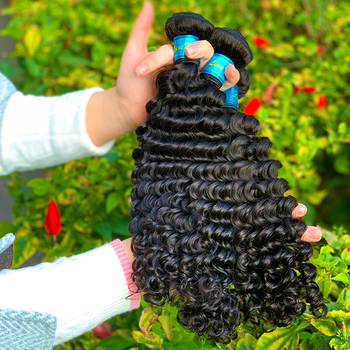 Luxefame Raw Virgin Malaysian Hair ,100 Human Malaysian Cuticle Aligned Virgin Hair Dubai,Mink Deep Wave Malaysian Hair Bundle