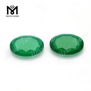 Top Quality Oval 10.5 x 14 x 3mm Big Table Shape Glass Stone