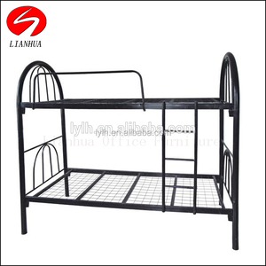High Quality Queen Size Bunk Bed Strong Metal Frame Student Bunk Bed for Sale