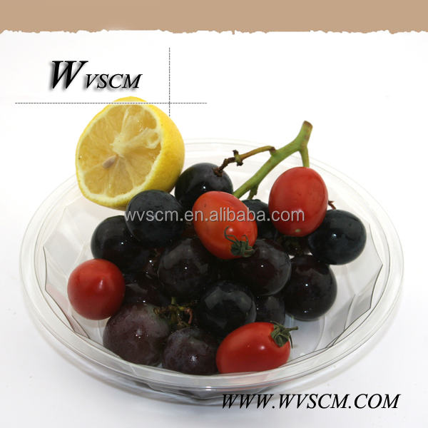 hot sale small fruit plastic food containers manufacturer
