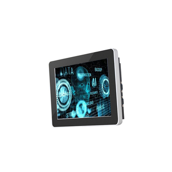 Horizontal wall mounted 21 inch touch screen pc with RJ45 WIFI USB