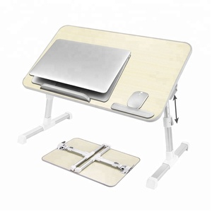 Amazon best popular folding portable adjustable computer laptop bed table