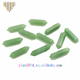 Natural gemstone of green aventurine for bracelets and pendants