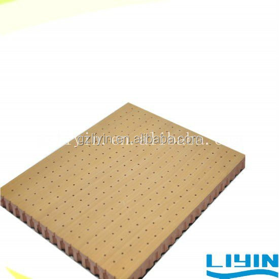 Micro Hole Wooden Perforated Acoustic Panel