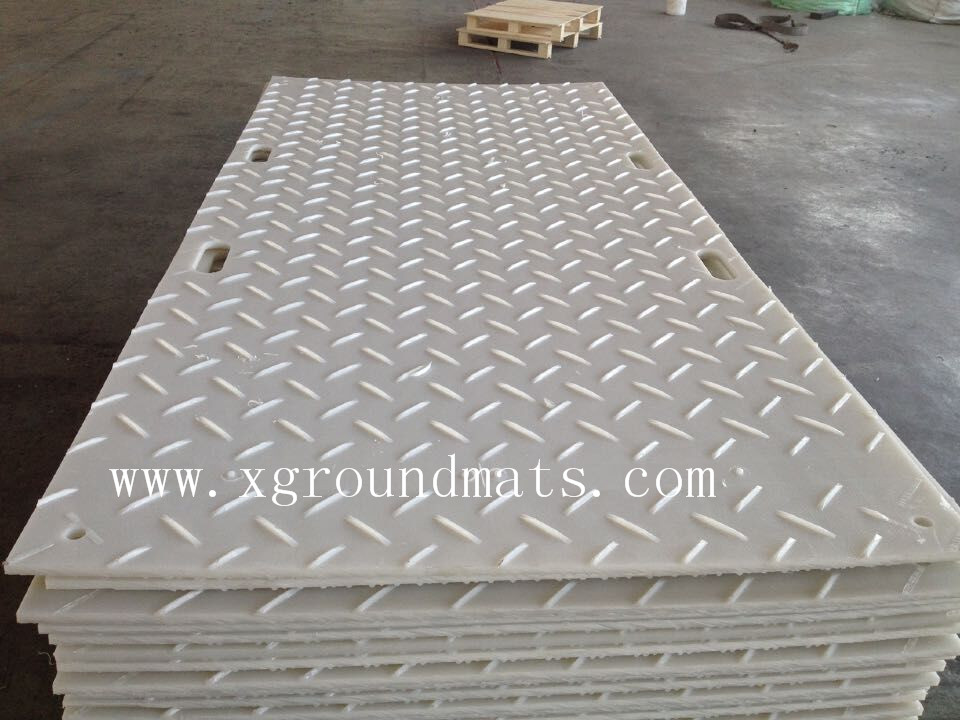 XinXing PE hdpe material ground protection mats/PE material ground protection pathways/track mat Plastic Sheet