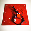 Rubber heater 308*308mm with thermistor/wire/digital temperature controller for CR10 220V 400W