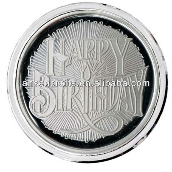 happy birthday commemorative coins for collection