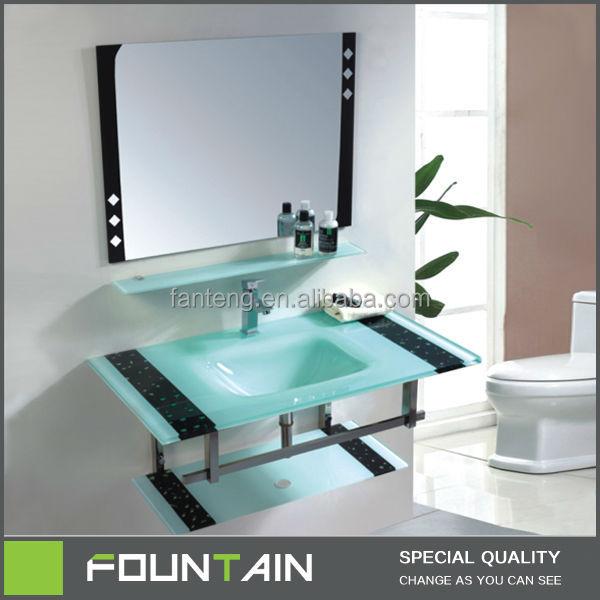 Glass wash basin vanity glass bowl living room glass wall for Glass wash basin designs dining room