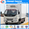 Foton 5tons Mini Refrigerated Van truck used freezer truck Refrigerated 4*2 for sale