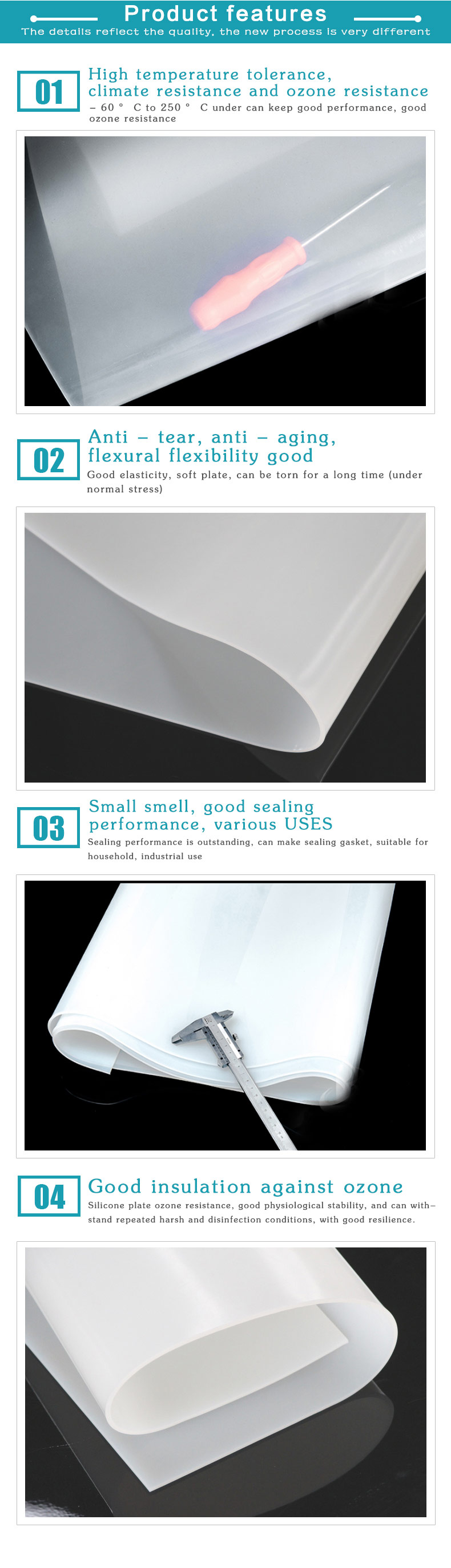 Ultra Thin Soft Clear Silicone Rubber Sheet Buy Clear