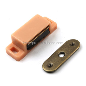 Magnetic Cabinet Cupboard Door Catches Plastic Shell Wardrobe Magnet Lock  Latch Kitchen Cabinet Catch Closures