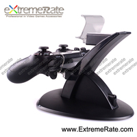 black dual charging stand for ps4 controller charger dock